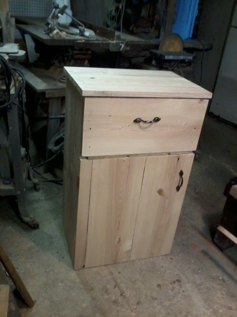 Bathroom cupboard with drawer